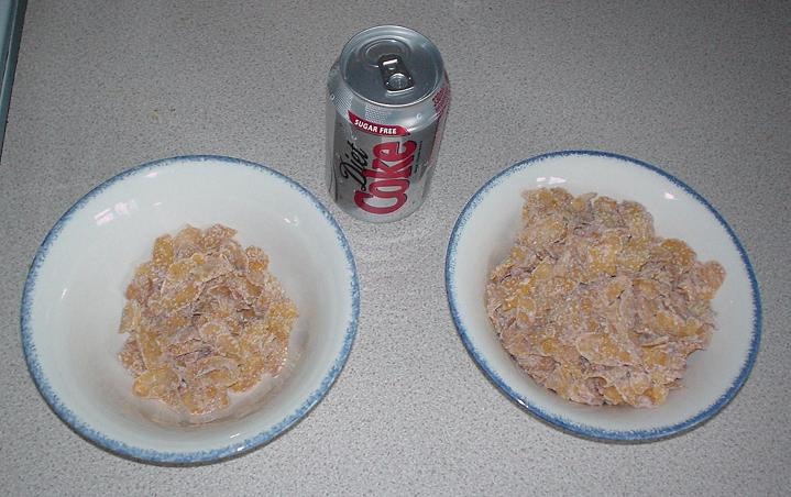 Bowls of Frosties