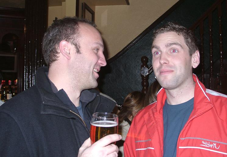 Lars and Tom
